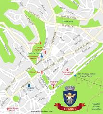 city map brasov romania brasov city map harta orasului brasov
