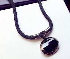elegant pendant necklace images Women black elegant pendant necklace necklace for you jpg