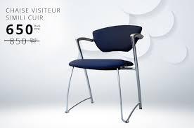 chaise visiteur bureau mobilier de bureau ioffice