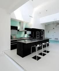 kitchen modern black and white kitchen backsplash tile home