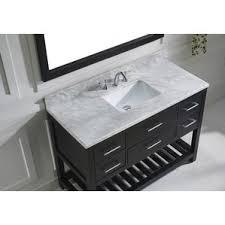Bathroom Black And White Bathroom by 48 Inch Bathroom Vanities You U0027ll Love Wayfair
