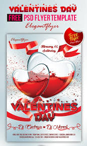 valentines flyer template 90 awesome free psd flyer templates