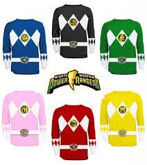 power ranger halloween costumes for kids power rangers shirt ebay