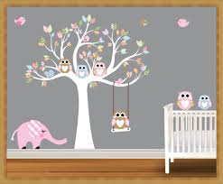 Nursery Wall Decals Animals by Stickers For Nursery Wall Decals Home Decorations Ideas