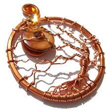 Harvest Moon by Tree Of Life Harvest Moon Pendant Copper Marmalade Lisa Kelleher