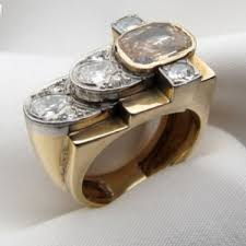 Non Traditional Wedding Rings by Non Traditional Wedding Rings Inspiration 1 Retro Cocktail Rings