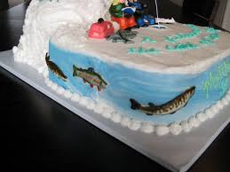 127 best fishing cake ideas images on pinterest fishing cakes
