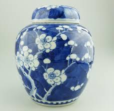 ginger jar antique oriental porcelain a good chinese prunus ginger jar