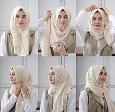 tutorial hijab pashmina kaos yang simple hijab tutorial tutorial hijab pashmina untuk ke kantor simple dan