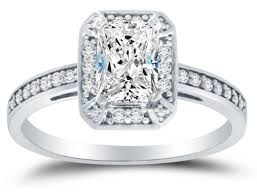 cubic zirconia white gold engagement rings solid 14k white gold highest quality cz cubic zirconia