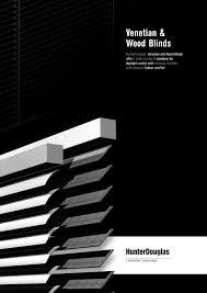 venetian and wood blinds hunter douglas pdf catalogues