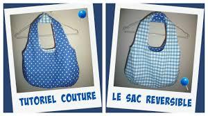 patron couture sac cabas couture sac reversible tutoriel lien du patron youtube