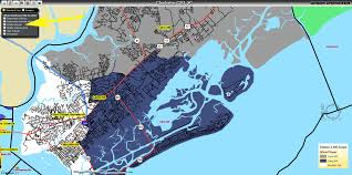 Charleston Sc Map Ccsd Current Map District 2 Middle Schools Charleston Real