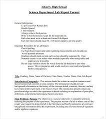 formal lab report template lab report template practicable visualize sle marevinho