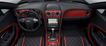 bentley steering wheels exclusive for down under the bentley continental gt black speed