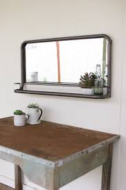 Vintage Bathroom Mirror Vintage Bathroom Mirror With Shelf Creative Bathroom Decoration