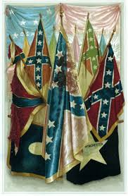 Battle Flags Of The Confederacy The Lesser Known History Of The Confederate Flag Atlas Obscura