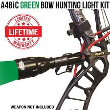 green hunting light reviews wicked lights a48ic green bow hunting light kit for bow fishing and