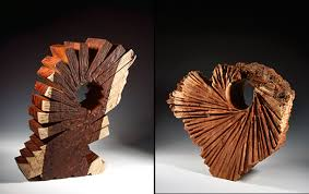 robyn horn wood wood sculpture wood artist form texture and