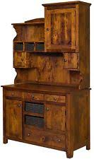 Primitive Hutch Rustic Primitive Sideboards And Buffets Ebay