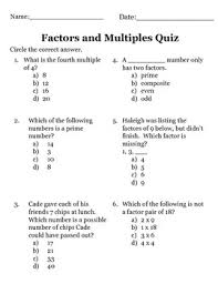 factors multiples prime and composite numbers quiz by jennie hopper
