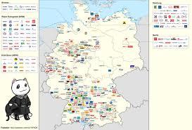 Proportional Symbol Map German Corporate Map Infoviz Pinterest