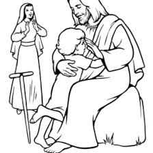 free printable jesus coloring pages kids coloring pages
