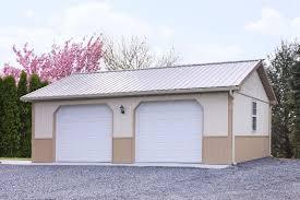 Barn Garage Doors Three Stall Garagepole Barn With Living Quarters Indiana Pole