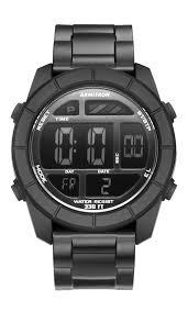 watches chronograph black digital chronograph sport 47mm armitron