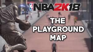 Nba Map Nba 2k18 Présentation De La Map Youtube