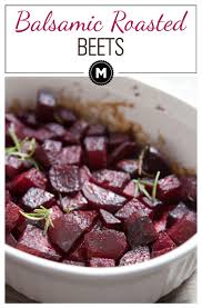 Balsamic Roast Beef In Oven Balsamic Roasted Beets With Rosemary Macheesmo