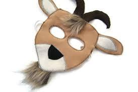 Goat Halloween Costume Goat Mask Billy Goat Mask Dress Farm Animal Birthday