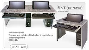 Desks And Computer Desks Smartdesks Computer Desks Classroom Computer Desks Flipit Flip