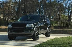Ford Explorer Blacked Out - ssavidge 2003 ford explorer specs photos modification info at