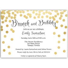 brunch bridal shower invites brunch and bubbly bridal shower invitation the invite