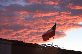 Texas Flag Chile Flag San Pedro De Atacama And The Stars Above Chasing Aliens In South