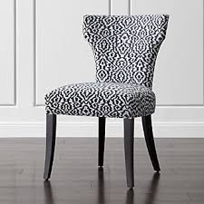 Upholstered Chairs Dining Room Shop Dining Chairs Kitchen Chairs Crate And Barrel