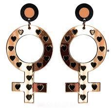feminist earrings feministmas gift guide