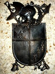 shield medieval wall decor free usa shipping old world zoom