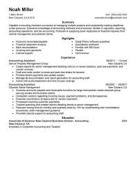 resume template for assistant best accounting assistant resume exle livecareer