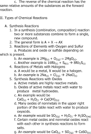 all grade worksheets classifying chemical reactions worksheet
