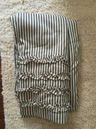 Pottery Barn Waffle Weave Shower Curtain Shower Curtain Pottery Barn In Sage Green Toile And Cream This