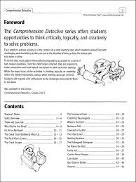 comprehension detective book two grades 6 8 033345 details