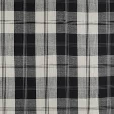 Black And White Check Upholstery Fabric Upholstery Fabric For Curtains Plaid Linen Playful Plaid