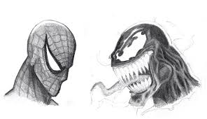 spiderman venom sketch by joeymcdaniel on deviantart