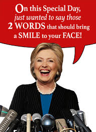 Obama Happy Birthday Meme - funny hillary clinton cards cardfool free postage included