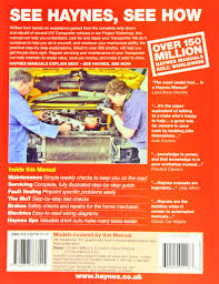 vw t4 transporter diesel 90 june 03 haynes repair manual