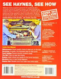 vw t4 transporter diesel 90 june 03 haynes repair manual
