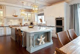 kitchens with islands images 30 kitchen islands with tables a simple but clever combo