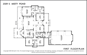 2509 5 mistypond floor plan outer banks house plans the coastal